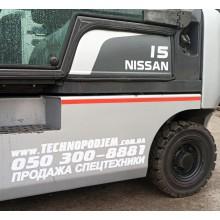 Вилочный погрузчик NISSAN Y1D1A15Q 2010 б/у