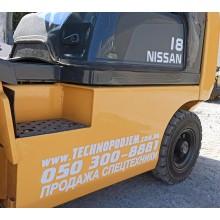 Вилочный погрузчик NISSAN P1D1A18LT-2 2012 б/у