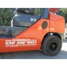 Вилочный погрузчик TOYOTA 02-8FGF302013 б/у