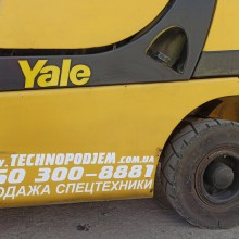 Вилочный погрузчик YALE GDP050VXNXRF086 2013 б/у