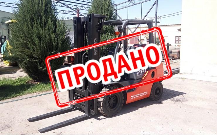Вилочный погрузчик TOYOTA 8FG25 2009 б/у