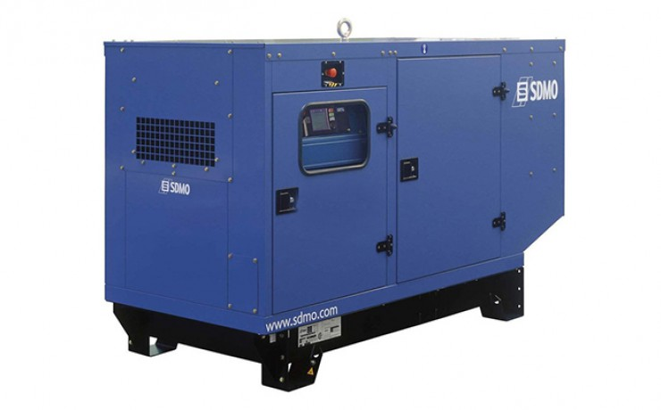 Аренда электростанции SDMO J22
